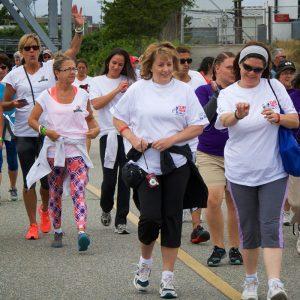 ALS fundraising walk