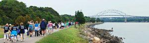 ALS fundraiser walk on Cape Cod