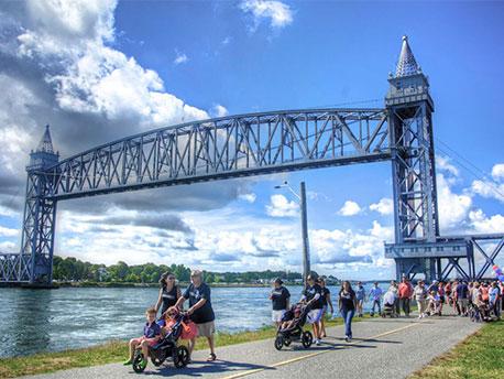 ALS Cape Cod Canal Walk and Bourne Bridge