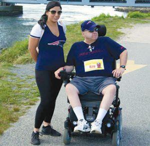 ALS in wheelchair