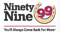 99 Restaurant logo